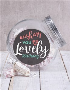 gifts: Birthday Wishes Candy Jar!