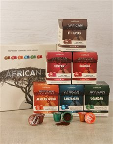 gifts: Caffelux African Collection Gift Box!