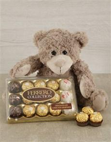 flowers: Teddy & Ferrero Duo!