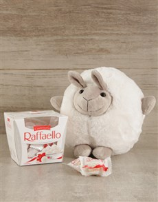 gifts: Cuddly Sheep & Raffaello Duo!