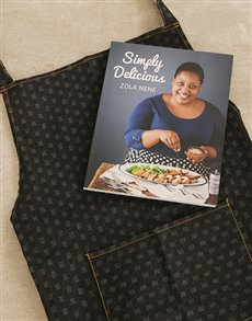 gifts: Simply Delicious Cookbook and Apron!