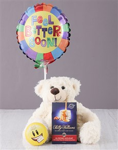 gifts: Get Well Teddy Balloon & Lindt Gift!