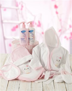 gifts: Baby Girl Bed Time Gift With Products!