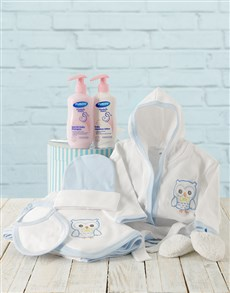 gifts: Baby Boy Bed Time Gift With Products!