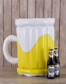 gifts: Inflatable Beer Bucket!