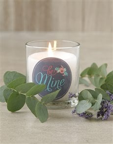 gifts: Be Mine Candle!