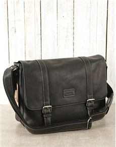 gifts: Jekyll & Hide Black Texas Crossbody Messenger Bag!