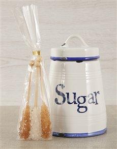 gifts: Rustica Sugar Canister & Sugar Sticks!