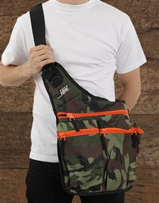 gifts: DaddyKool Camo Diaper Bag!