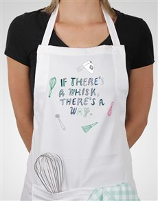 gifts: If Theres A Whisk Apron!