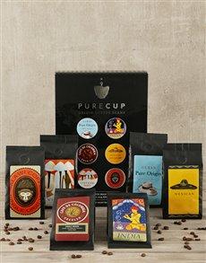 gifts: Espresso Origin Coffee Hamper!