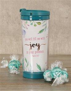 gifts: Joy Travel Mug Hamper!