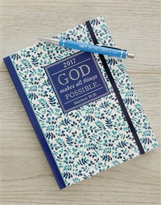 gifts: All Things Possible Weekly Planner!