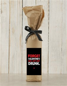 gifts: Forget Valentines Backsberg Red!