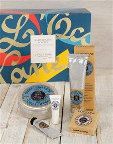 gifts: L'Occitane Comforting Shea Butter Gift Set!