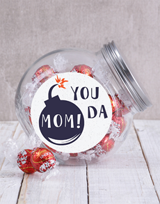 gifts: You Da Mom Candy Jar!
