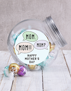 gifts: Speech Bubble Mom Candy Jar!