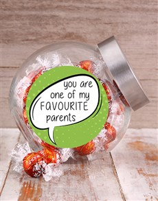 gifts: Favourite Parents Candy Jar!
