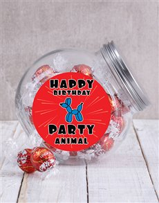 gifts: Happy Birthday Party Animal Candy Jar!