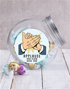gifts: Applause Candy Jar!