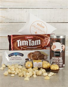 gifts: Gourmet Chocolate Treat Hamper!