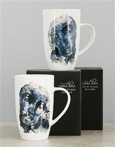 gifts: Carrol Boyes Out Of The Blue Mug Set!