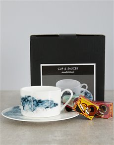 gifts: Carrol Boyes Moody Bloom Mug and Toni Tea!