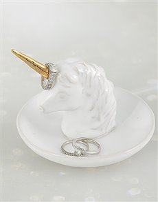 gifts: Unicorn Jewellery Ceramic Holder!