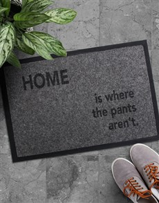 gifts: Where The Pants Doormat!