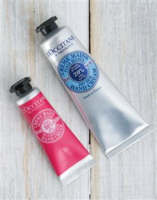 gifts: LOccitane Shea Butter Hand Cream Duo!