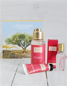 gifts: L'Occitane Romantic Rose Set!