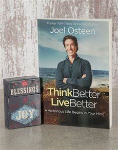 gifts: Think Better Live Better Book and Blessings Cards!