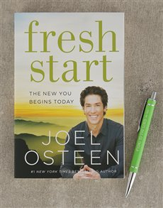 gifts: Fresh Start Book and Pen!