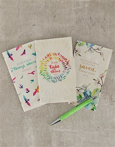 gifts: Inspirational Notebook Trio!