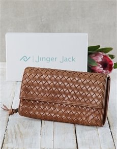 gifts: Jinger Jack Tan Lucie Ladies Purse !