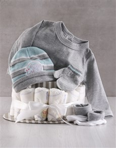 gifts: Winter With Tatty Teddy Nappy Cake!
