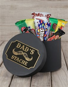 gifts: Dads Stache Choc Hat Box!