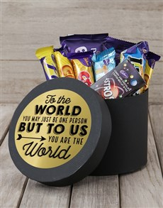 gifts: You Are The World Truffle Hat Box!