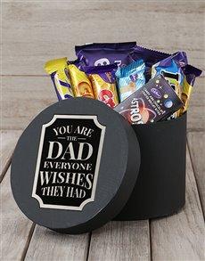 gifts: Wishful Dad Choc Hat Box!