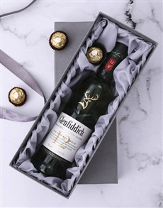 gifts: Silver Box of Glenfiddich!