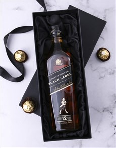 gifts: Black Box of Johnnie Walker Black!
