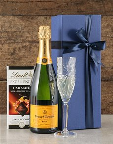 gifts: Blue Box of Veuve!