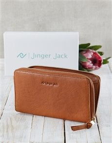 gifts: Caramel Jinger Jack Jordan Ladies Purse!