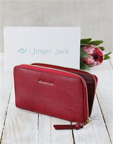 gifts: Red Jinger Jack Jordan Ladies Purse!