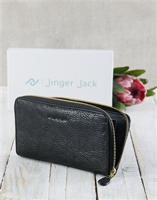 gifts: Black Jinger Jack Jordan Ladies Purse!