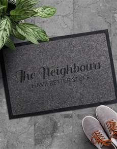 gifts: The Neighbours Doormat!
