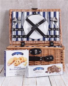 gifts: Cookie Lovers Picnic Basket!