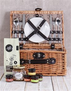 gifts: Sweet Spreads and Coffee Picnic Basket!