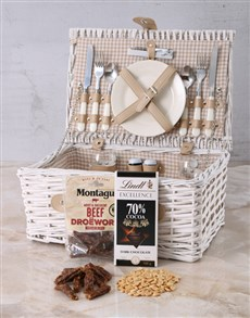gifts: Delightful Snack Attack Picnic Basket!