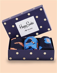 gifts: Happy Socks For Dad Trio!